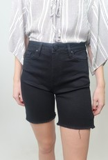 Just Black HR Frayed Bottom Bermuda Short