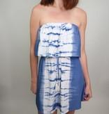 Vintage Havanna Dive off the Deep End Tie Dye Dress