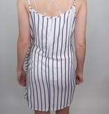 Vintage Havanna Love on the Brain Tie Waist Dress