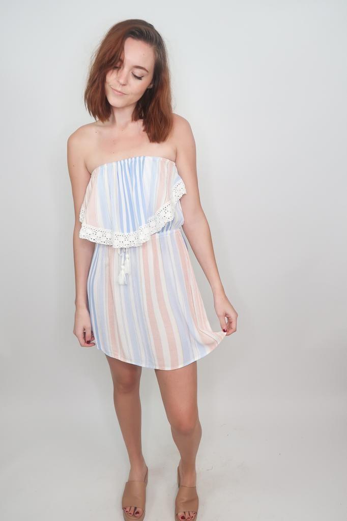 Vintage Havanna Feels Like Home Tube Dress