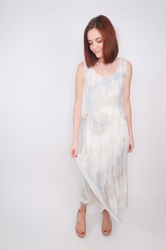 Scandal Rosalia silk maxi dress