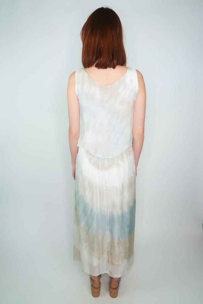 Scandal Rosalia silk maxi dress