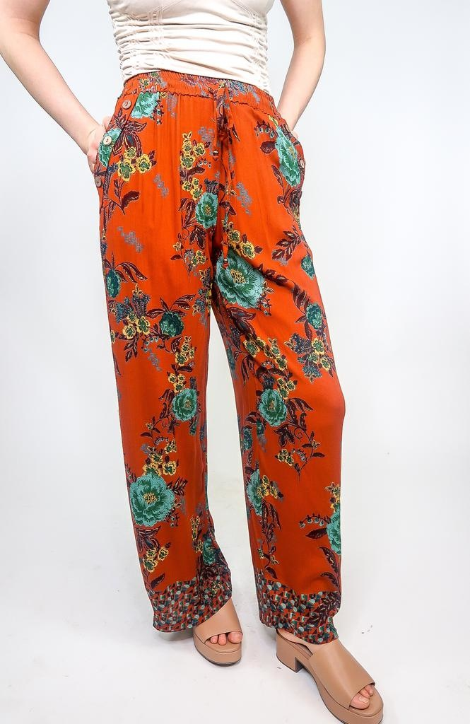 Angie McFLy Printed Pants