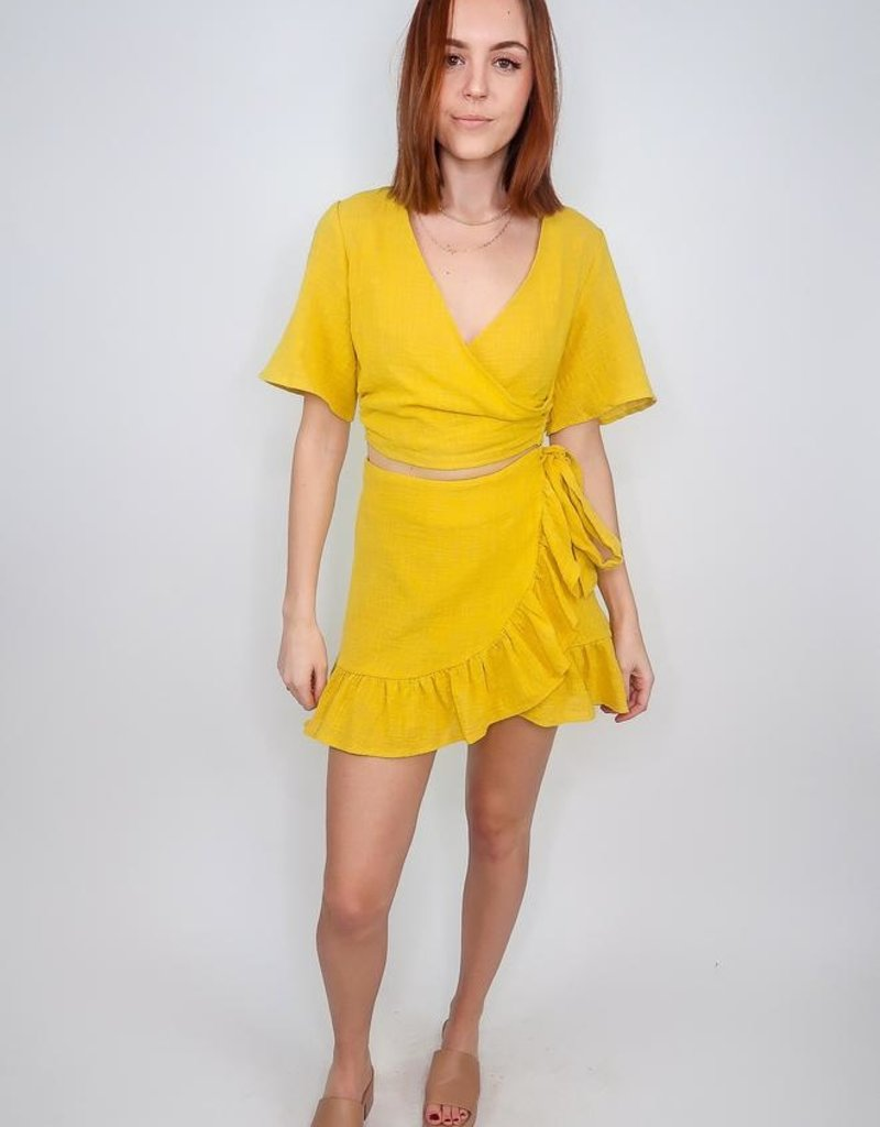 L'atiste Sweet Sunshine Short Sleeve Top