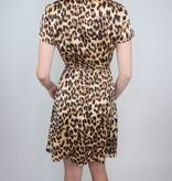 Aakaa Wrap Midi Dress