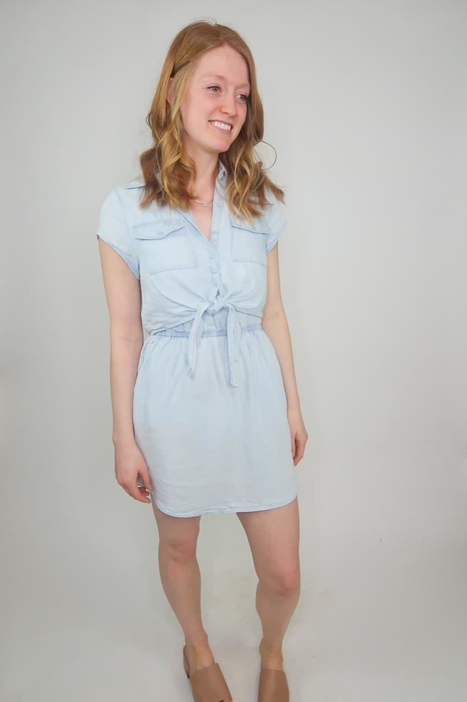 Jack BBD Chambray You Stay Dress