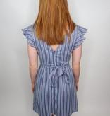 She + Sky Hometown Girl Striped Dress