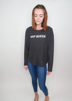 Sadie & Sage Nap Queen Graphic Sweatshirt