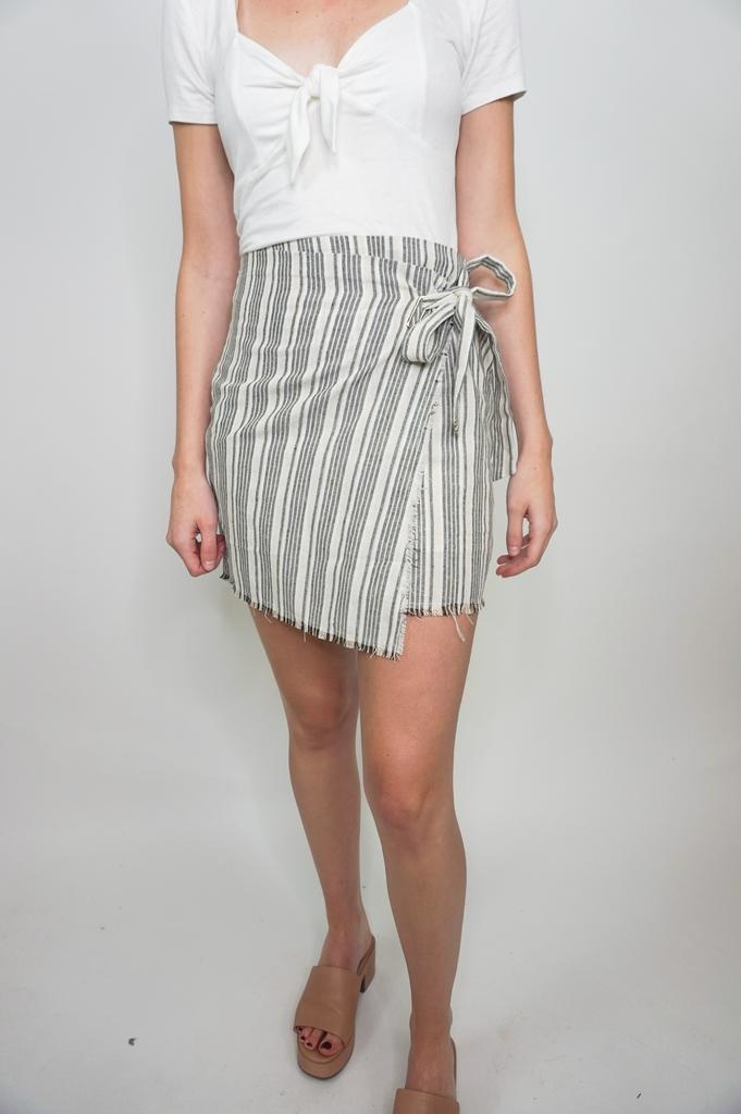 HYFVE Stripe Skirt