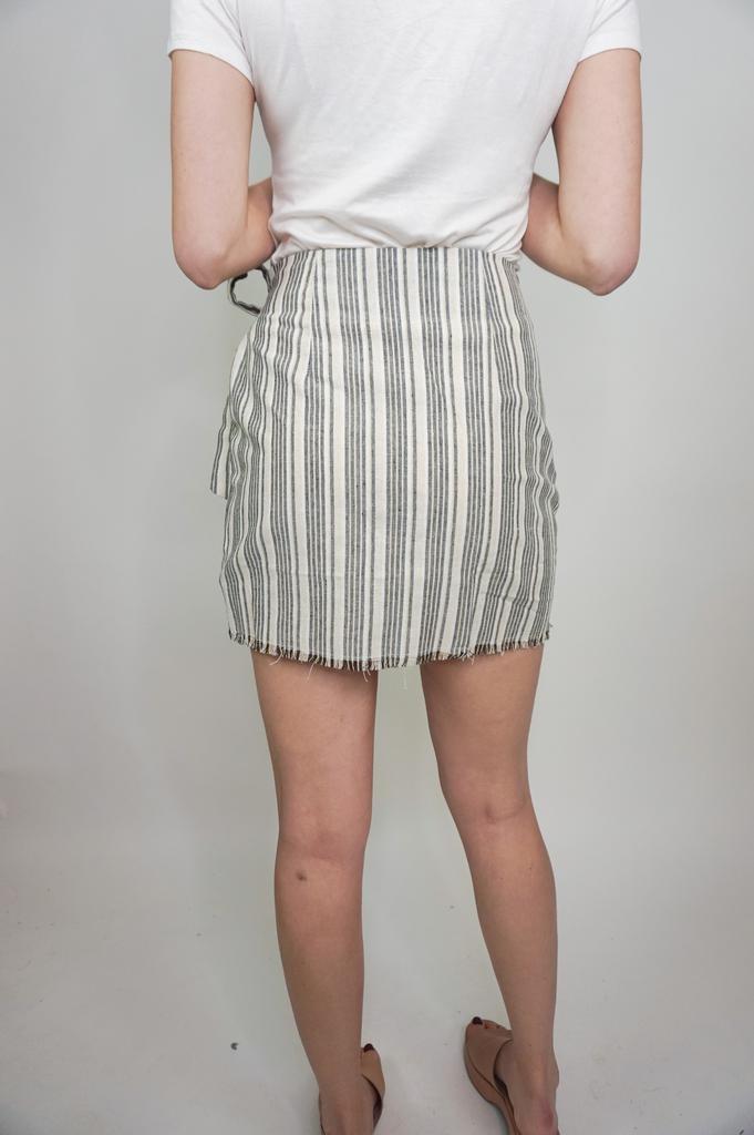 HYFVE Stripe Skirt