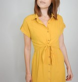 VeryJ Sofia Tie Front Dress
