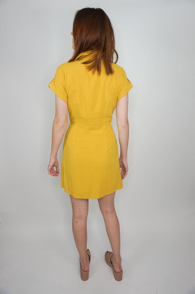 VeryJ Sofia Tie Front Dress