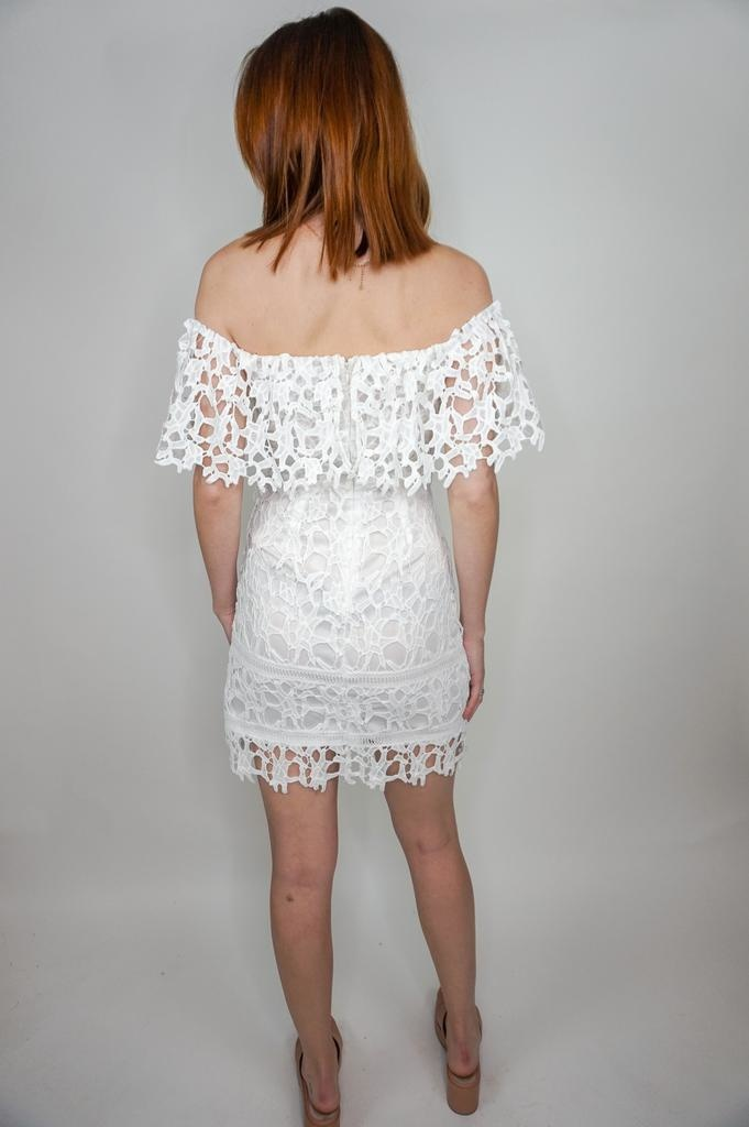 She + Sky Classic Beauty Lace Dress