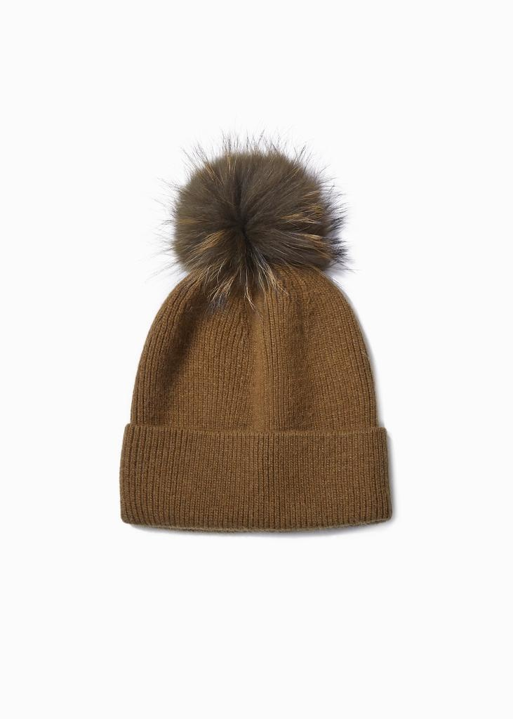 Look by M Cashmere Blend Beanie