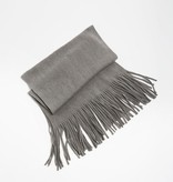 Look by M Brushed Color Long Fringe Scarf
