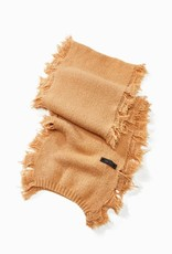 Look by M Cashmere Blend Fringe Scarf