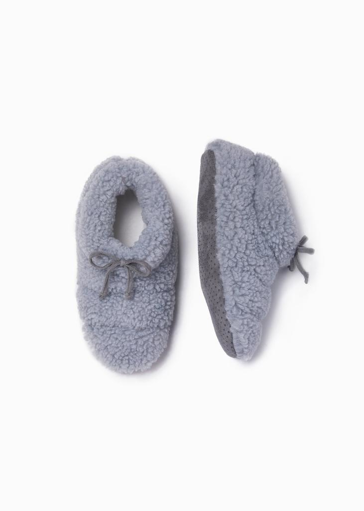 Look by M Shearling Slippers