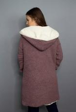 She + Sky Cozy On Up Fleece Coat