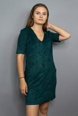 Sadie & Sage Beat Goes On Vegan Suede Dress
