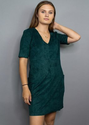 Sadie & Sage Beat Goes On Vegan Suede Dress