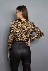 BB Dakota Ride or Tie Leopard Bodysuit