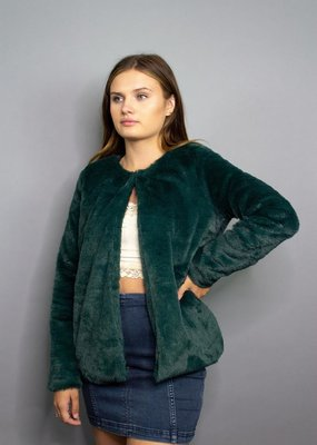 Sadie & Sage Jagger Faux Fur Jacket