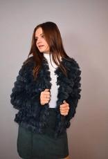 She + Sky Off The Fringe Layered Jacket