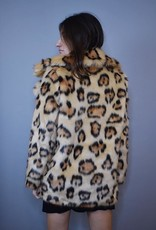 Glamorous Leopard Love Coat