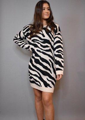 BB Dakota Life Is Wild Sweater Dress