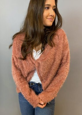 Sage The Label To The Desert Twist Front Sweater