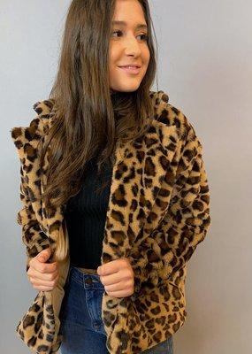 Sadie & Sage Lady Leopard Coat