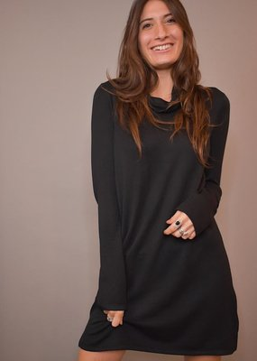 Z Supply The Premium Fleece Turtleneck Dress