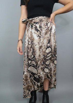 She + Sky Make You Feel Wrap Skirt