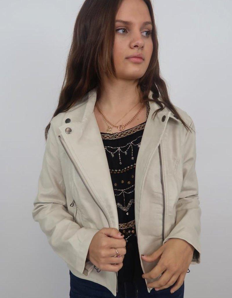 She + Sky Call Me Love Jacket