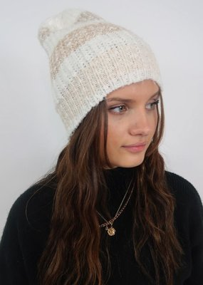 Free People Cozy in Stripe Beanie