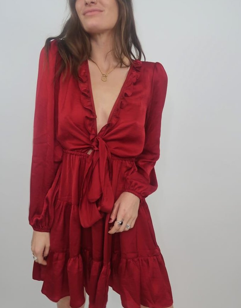 L'atiste Had To Be You Satin Dress