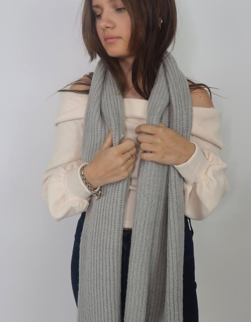 Look by M Daily Cashmere Basic Scarf