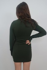 M Rena Act Like You Know Me Mockneck Seamless Dress