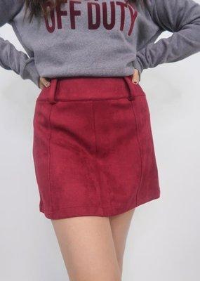 Jack BBD Suede Secret Skirt