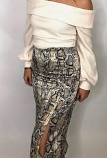 BB Dakota Python Capsule Midi Skirt
