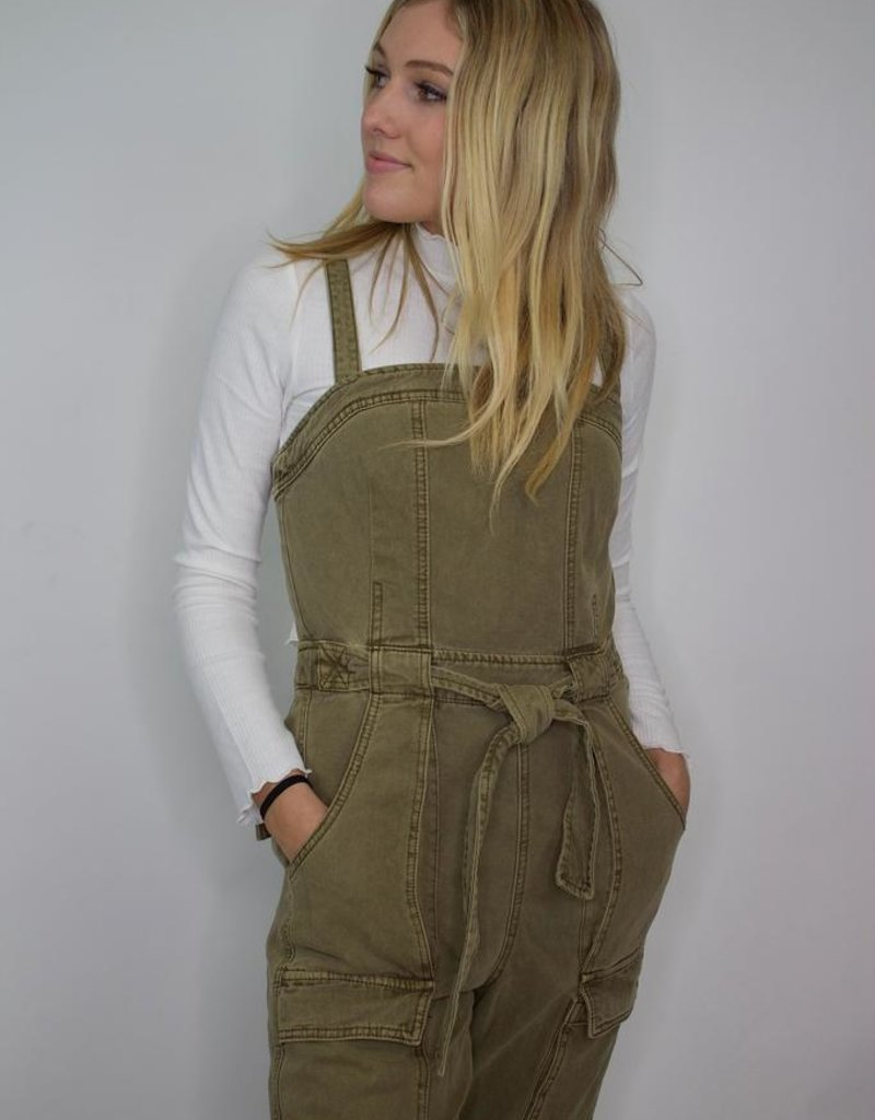 Free People Go West Utility Jumpsuit