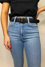 Most Wanted Slow and Steady Square Resin Buckle Belt