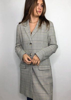 BB Dakota Plaid Reputation Coat