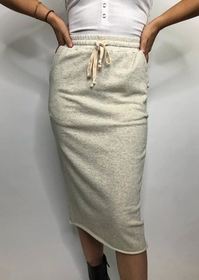 Hem & Thread Brad Slit Skirt