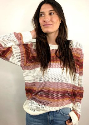 Cozy Casual Radiant Gradiant Knit Pullover