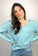Look by M Bono V-Neck Sweater