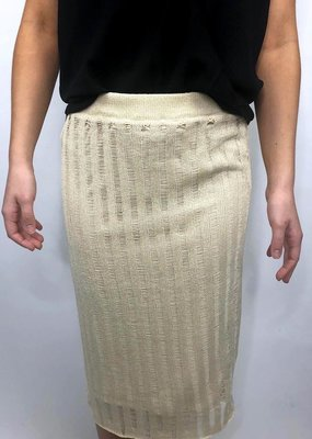 Sage The Label Laguna Knit Skirt