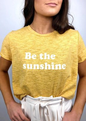 Sadie & Sage Be The Sunshine Graphic Tee