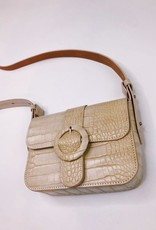 Most Wanted Irwin Croc Skin Crossbody