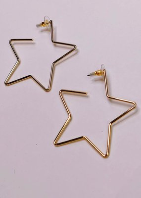 U.S. Jewelry House (New York Style) Star Power Earrings